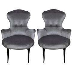 Pair of Italian Bedroom Chairs