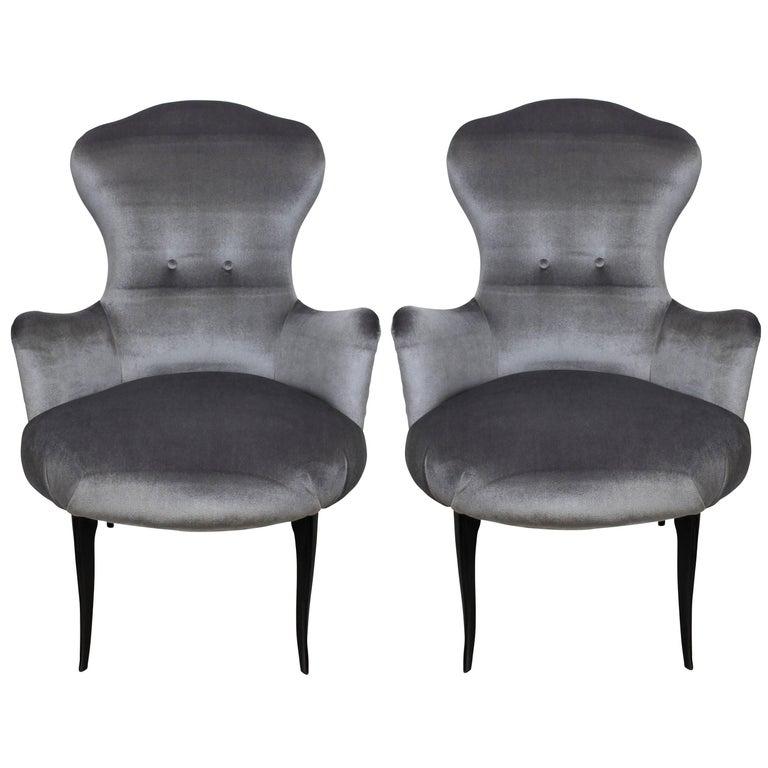 Pair of Italian Bedroom Chairs