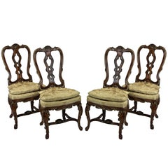 Four Fine George II Chairs