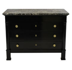 Ebonized French Commode