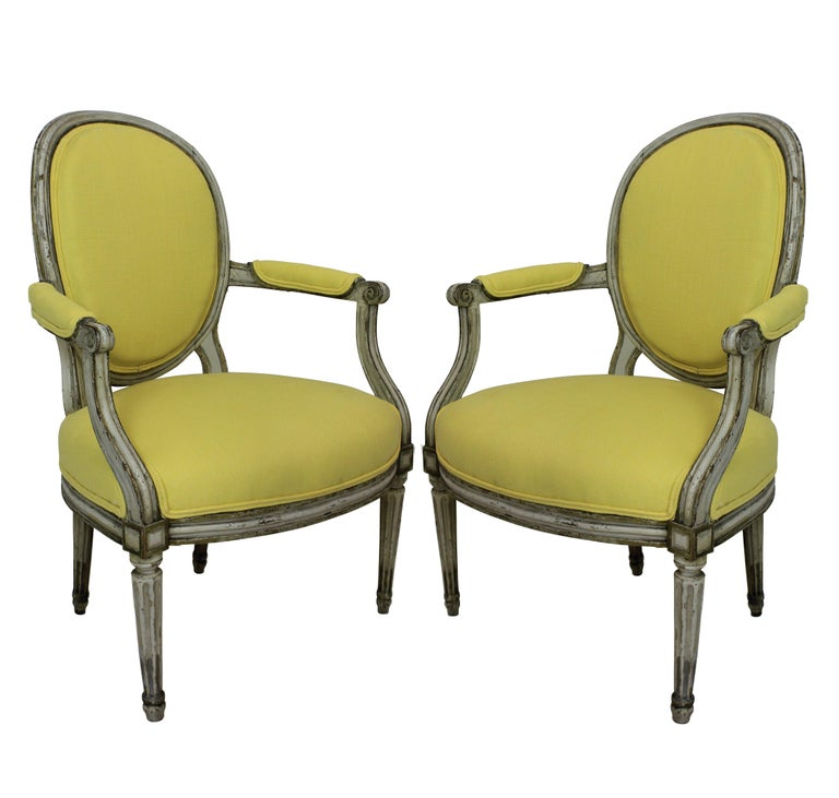 Pair of 18th Century Armchairs