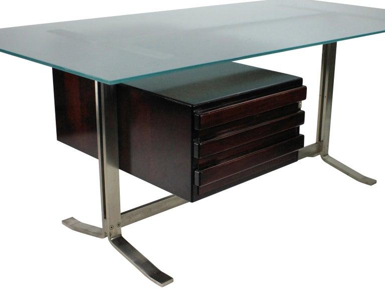 Italian Large Executive Desk by Formanova, Milan For Sale