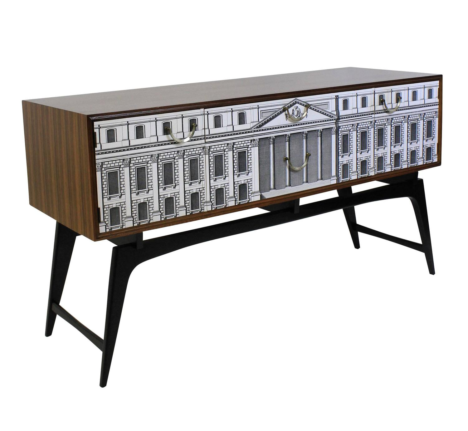 Fornasetti style credenza at 1stdibs for Furniture 2 inspire ltd