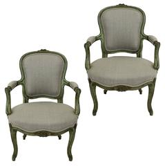 Pair of 18th Century French Chairs