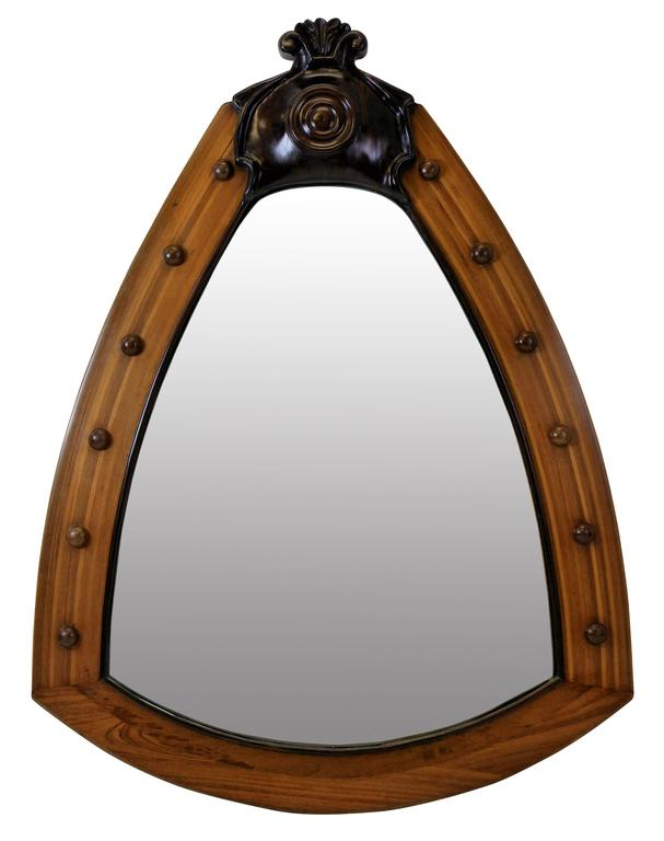 Pair of large white star line cruise liner mirrors for for Large white mirrors for sale