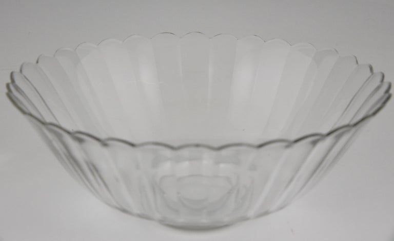 Metal Art Deco Silver Plated Centrepiece or Fruit Dish Gallia, Christofle Sue & Mare For Sale
