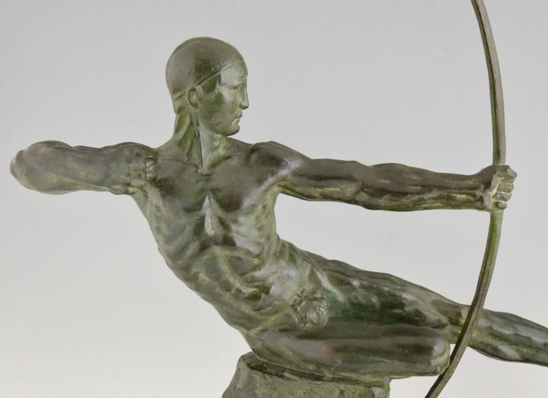 French Art Deco Bronze Sculpture of a Nude by Trinque