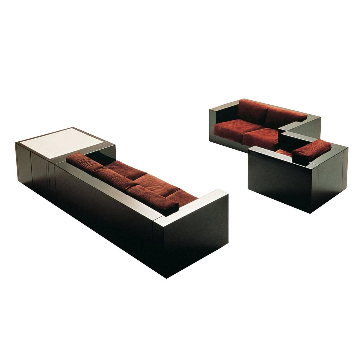 Saratoga Living Room Set By Lella And Massimo Vignelli For Poltronova At 1stdibs