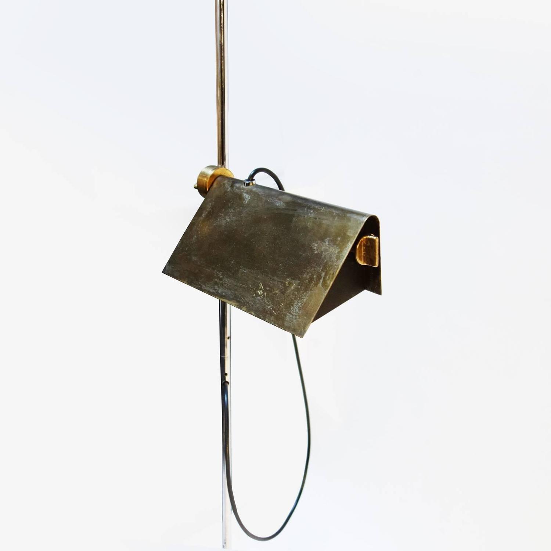 Adjustable halogen floor lamp by arredoluce for sale at for Halogen floor lamp for sale