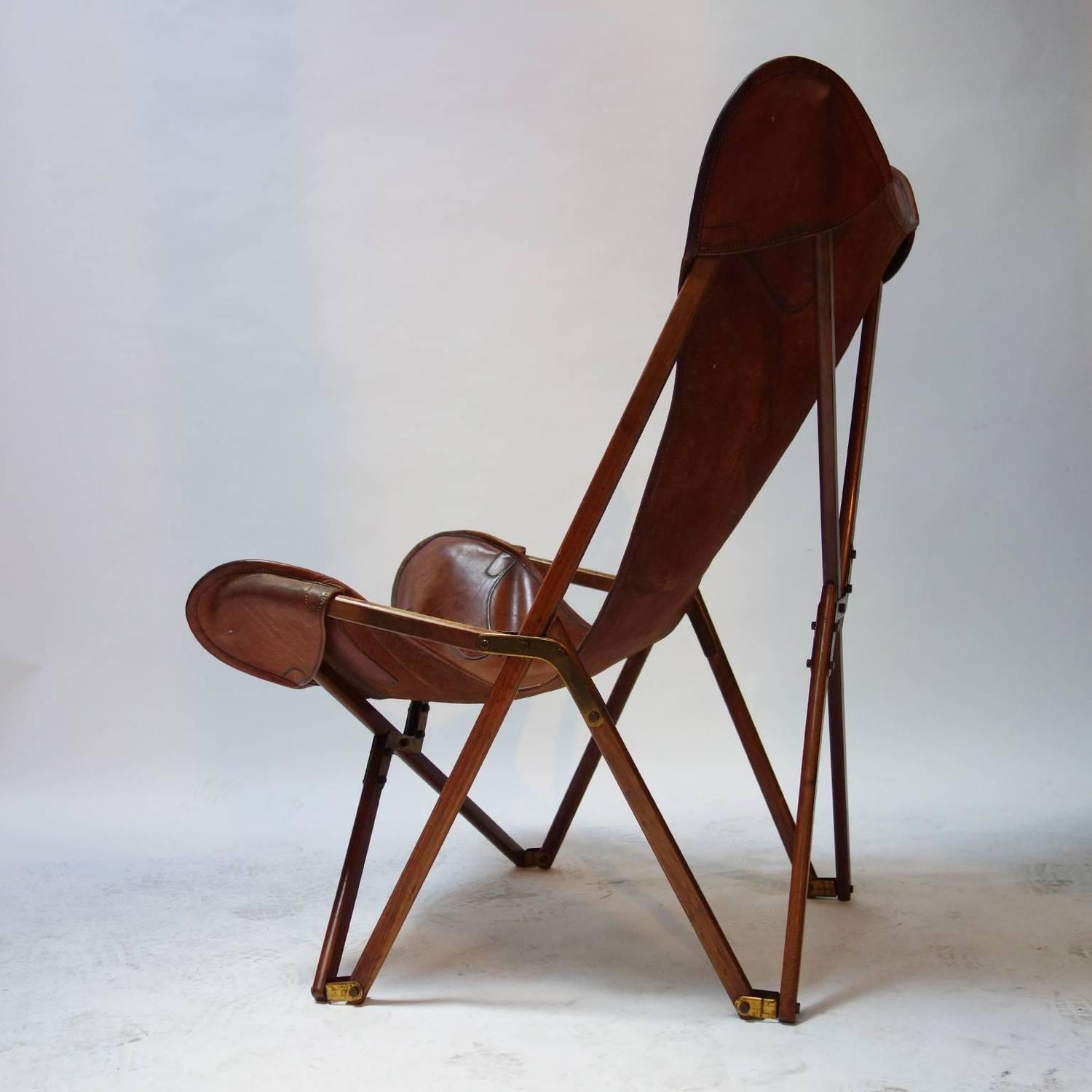 Marvelous Foldable Tripolina Leather Armchair By Joseph Beverly Fenby Evergreenethics Interior Chair Design Evergreenethicsorg