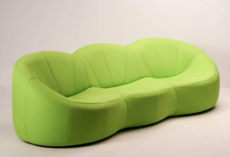 pumpkin sofa by pierre paulin for ligne roset at 1stdibs. Black Bedroom Furniture Sets. Home Design Ideas
