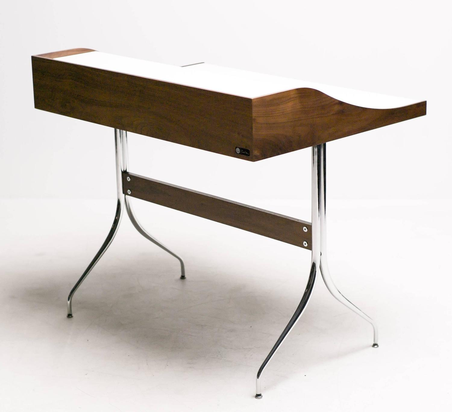George nelson swag leg desk at 1stdibs for Nelson swag leg table
