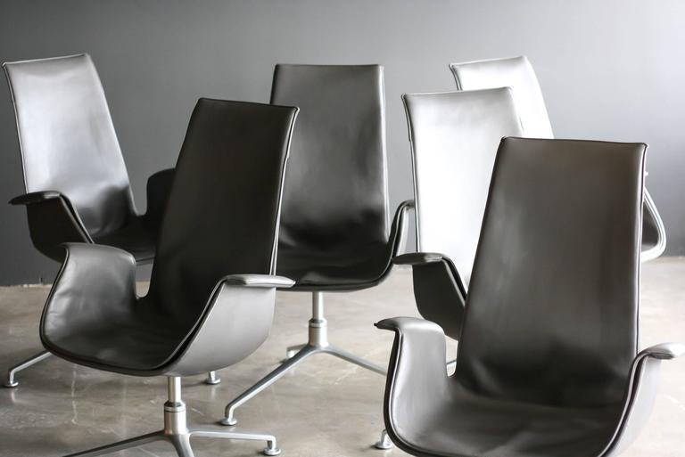 Danish FK 6725 Conference Chairs by Preben Fabricius & Jørgen Kastholm For Sale