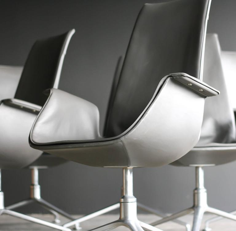 FK 6725 Conference Chairs by Preben Fabricius & Jørgen Kastholm 2