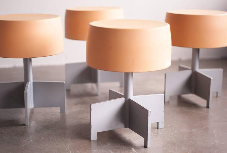 Set Of Six Dutch Design Architectural Stools At 1stdibs