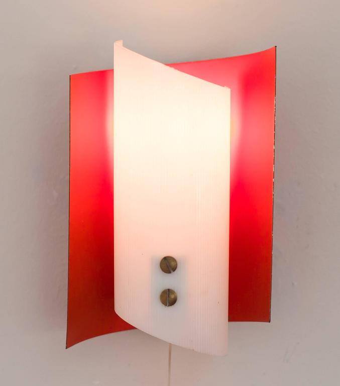 Pair of Mid-Century Modern Italian Sconces For Sale at 1stdibs