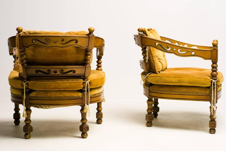 Pair of Giorgetti Armchairs of the 1975 Gallery Collection 9