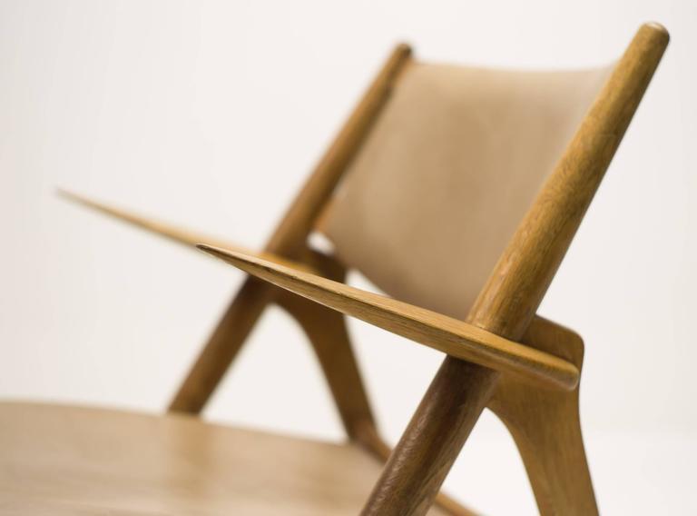 Hans Wegner CH-28 Sawbuck Chair 3