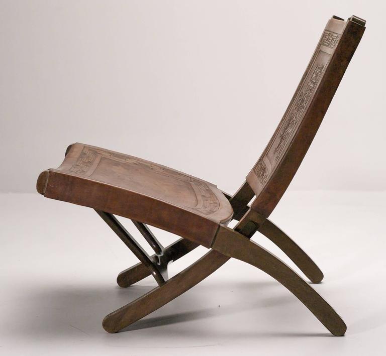 Ecuadorian folding chair by angel pazmino for muebles de - Estilo vintage muebles ...