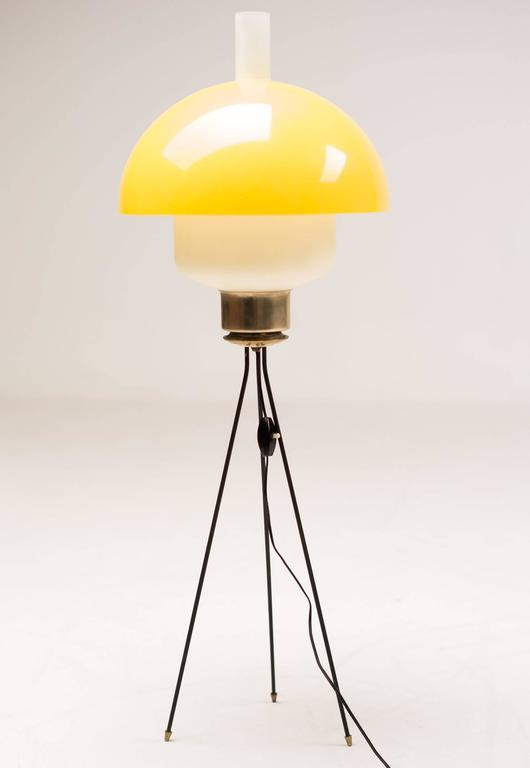 Italian 1950s Tripod Floor Light For Sale At 1stdibs