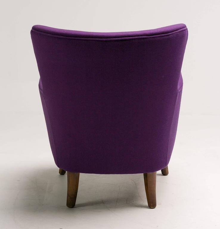 Dyed Lounge Chair by Theo Ruth for Artifort For Sale
