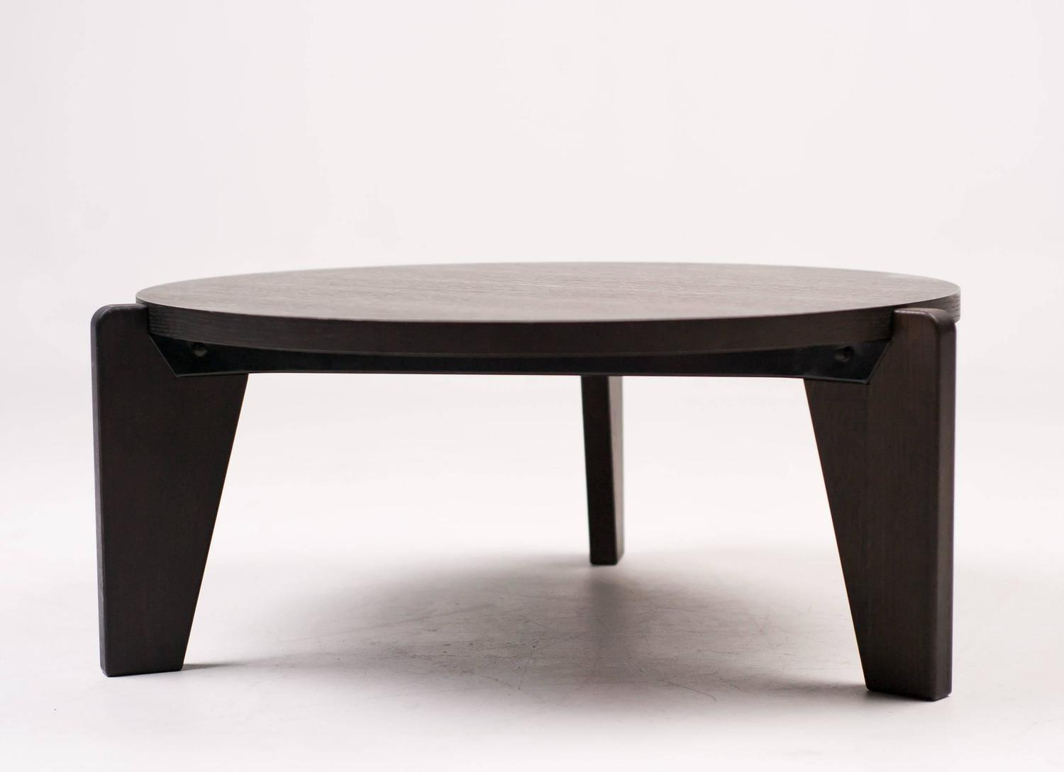 Gu Ridon Bas Coffee Table By Vitra Prouv Collection For Sale At 1stdibs