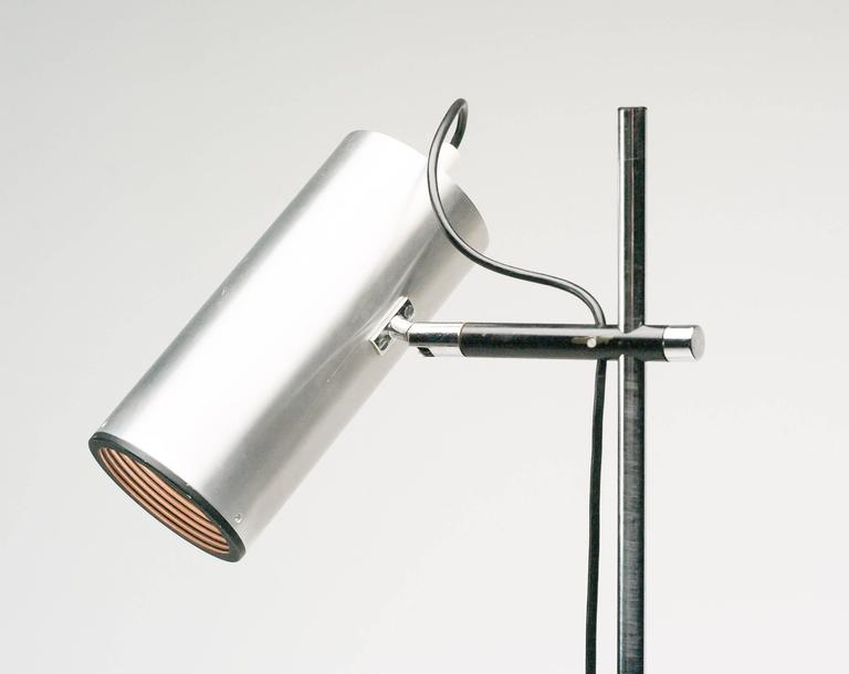 Maria pergay stainless steel floor lamp for sale at 1stdibs aloadofball Image collections