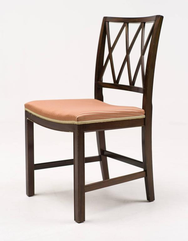 Ole Wanscher Set of Eight Rosewood Dining Chairs for A. J ...