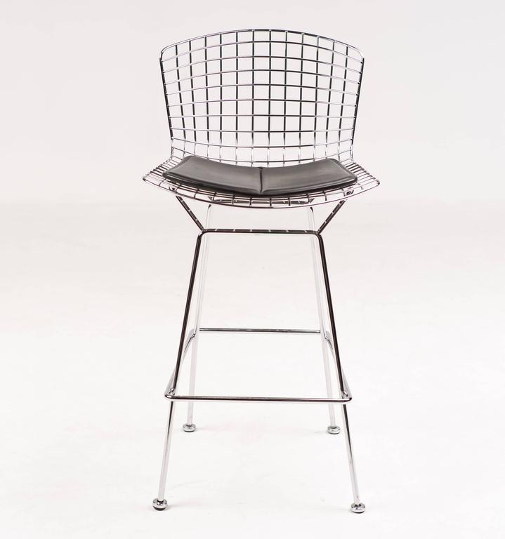 Bar Stools By Harry Bertoia For Knoll International At 1stdibs