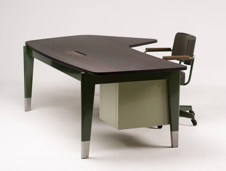jean prouv bureau pr sidence g star raw edition by vitra. Black Bedroom Furniture Sets. Home Design Ideas