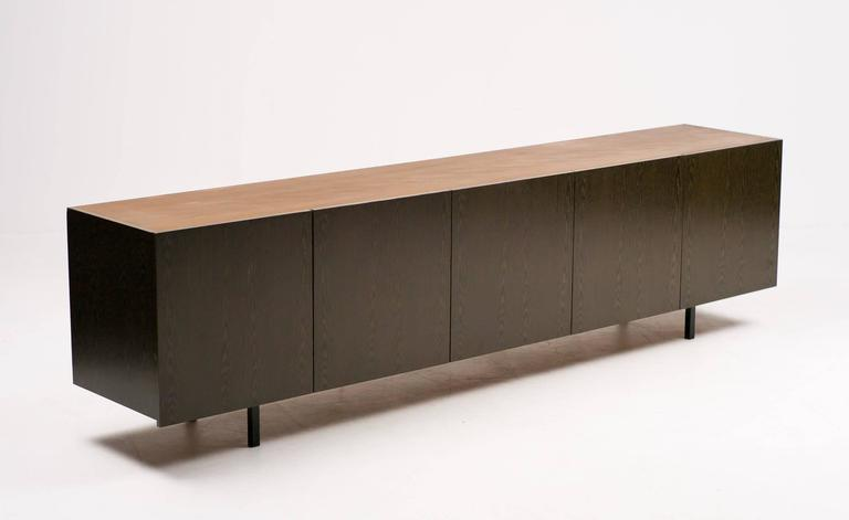 Architectural sideboard in wenge for sale at 1stdibs - Sideboard wenge ...