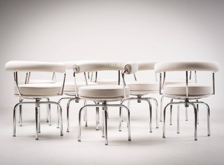 Charlotte Perriand LC7 Chairs by Cassina 5