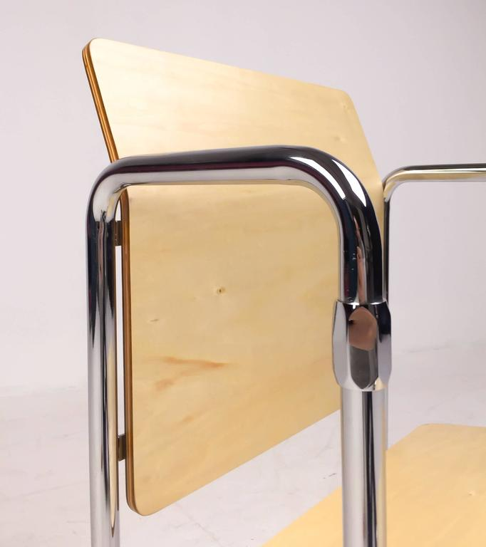 De Stijl Rietveld Hopmi Chair, Limited Edition from 2013 For Sale