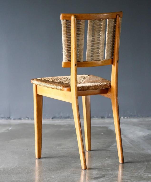 mart stam oak chair for sale at 1stdibs. Black Bedroom Furniture Sets. Home Design Ideas