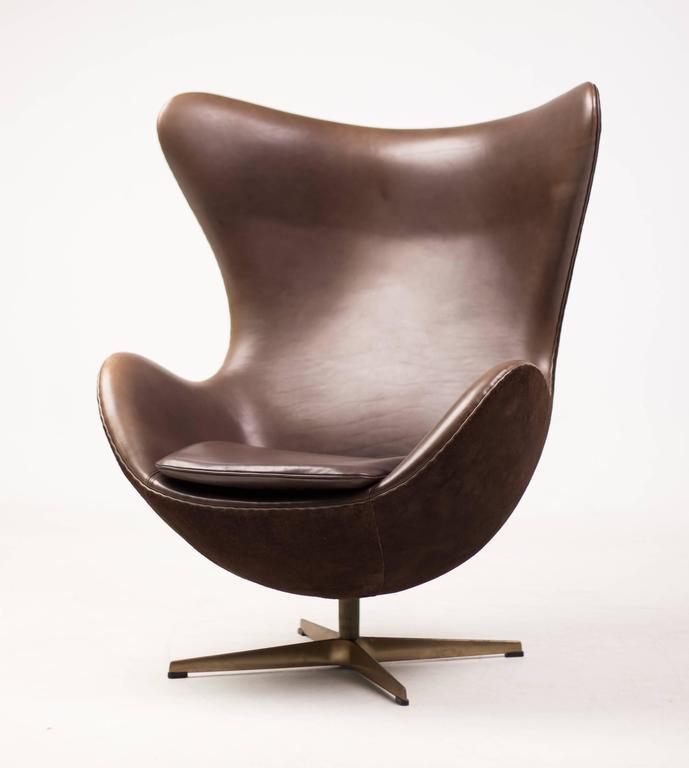 Golden Egg Chair At 1stdibs