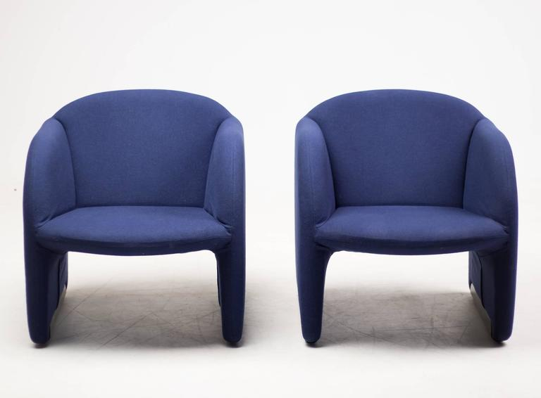 Pair of Ben Chairs Designed by Pierre Paulin for Artifort 6