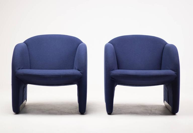 Pair of Ben Chairs Designed by Pierre Paulin for Artifort 2
