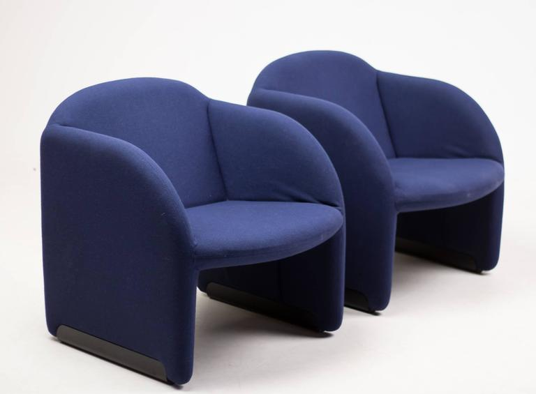 Pair of Ben Chairs Designed by Pierre Paulin for Artifort 9