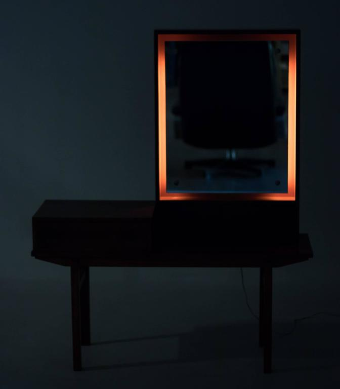 Furnitureinfashion Is Offering Very Affordable Arctic: Scandinavian Modern Vanity In Rosewood For Sale At 1stdibs