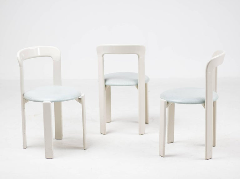 Set of Three Rey Chairs by Bruno Rey 4