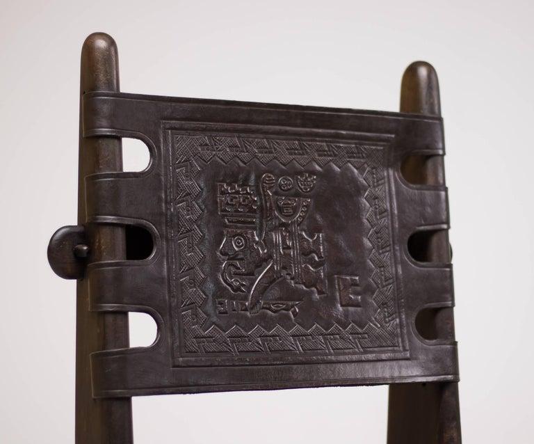 Set of Four Ecuadorian Dining Chairs by Angel Pazmino for Muebles de Estilo 6