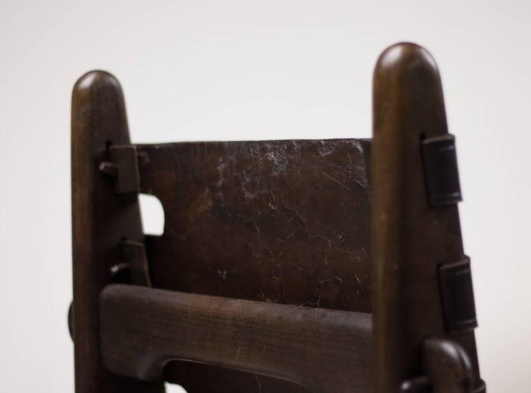 Set of Four Ecuadorian Dining Chairs by Angel Pazmino for Muebles de Estilo 8