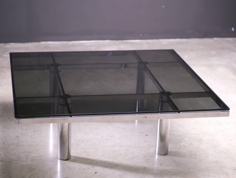 Mid-Century Modern Andre Coffee Table Designed by Afra and Tobia Scarpa for Knoll International For Sale