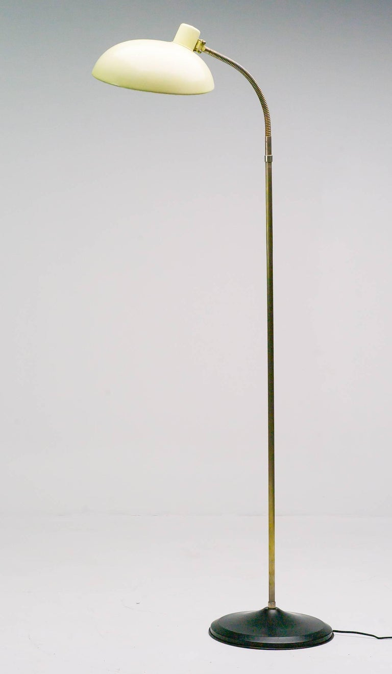 Artiforte Floor Lamp Dutch Circa 1950 For Sale At 1stdibs