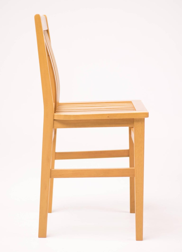 Modern Set of Six Milano Chairs by Aldo Rossi for Molteni For Sale