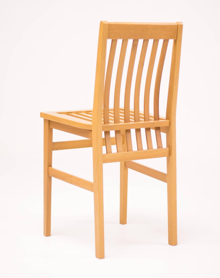 Set of Six Milano Chairs by Aldo Rossi for Molteni In Excellent Condition For Sale In Dronten, NL