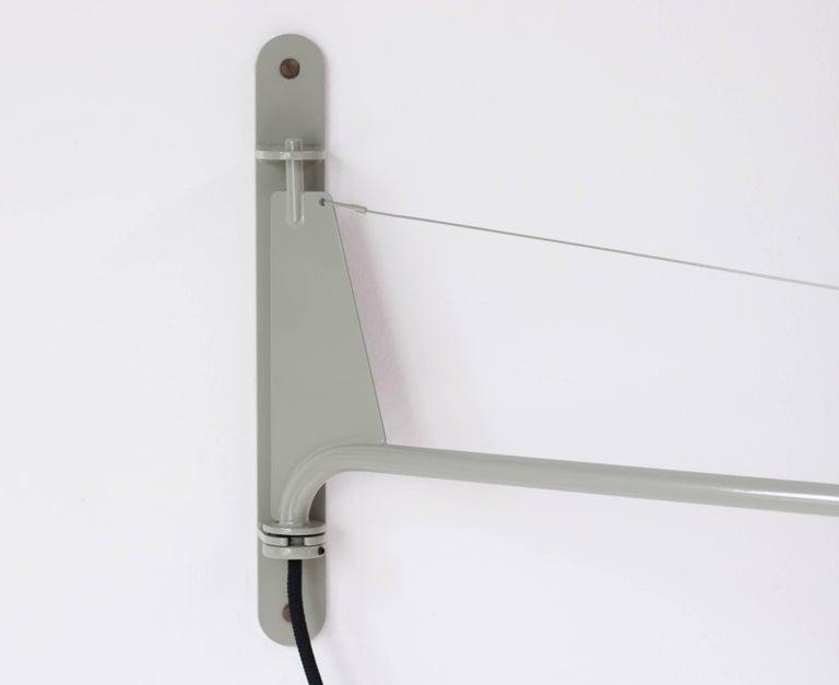 Mid-Century Modern Jean Prouvé Swing Jib Wall Light For Sale