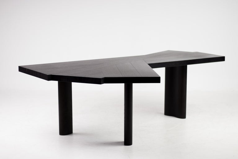 Late 20th Century Oak Table by Charlotte Perriand for Cassina For Sale