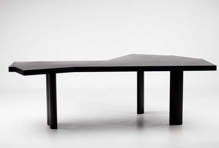 French Oak Table by Charlotte Perriand for Cassina For Sale