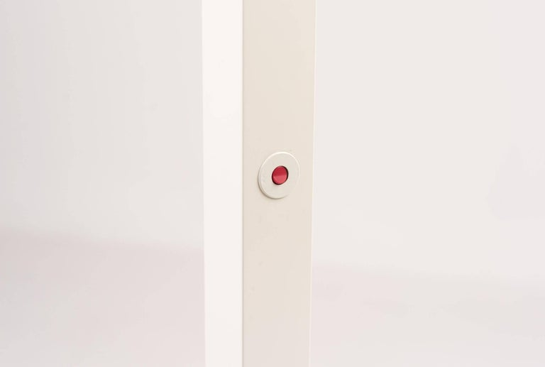 Enameled Ettore Sottsass ID-S Edition Floor Lamp For Sale